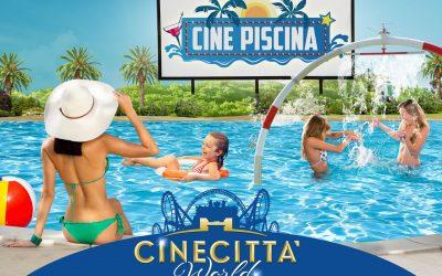 piscina al parco Cinecittà di Roma