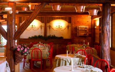 sala ristorante Centro Pineta Hotel