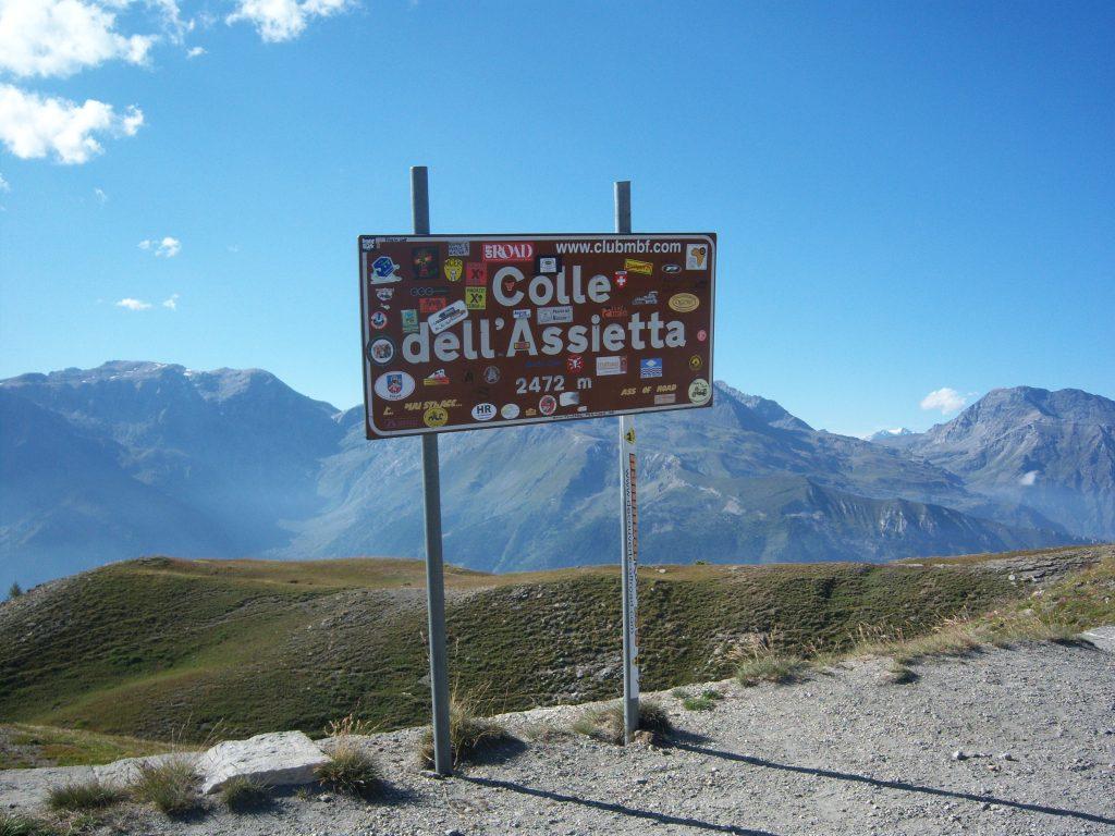 trekking al Colle dell'asietta
