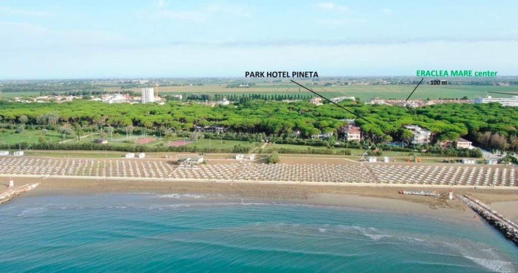 spiaggia Eraclea Park Hotel