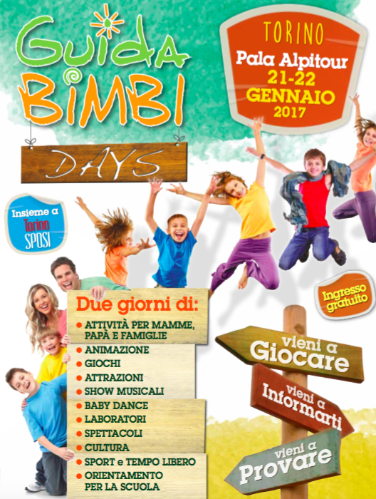 evento per il divertimento delle famiglie a Torino
