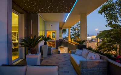 terrazzo hotel Ambassador Bibione