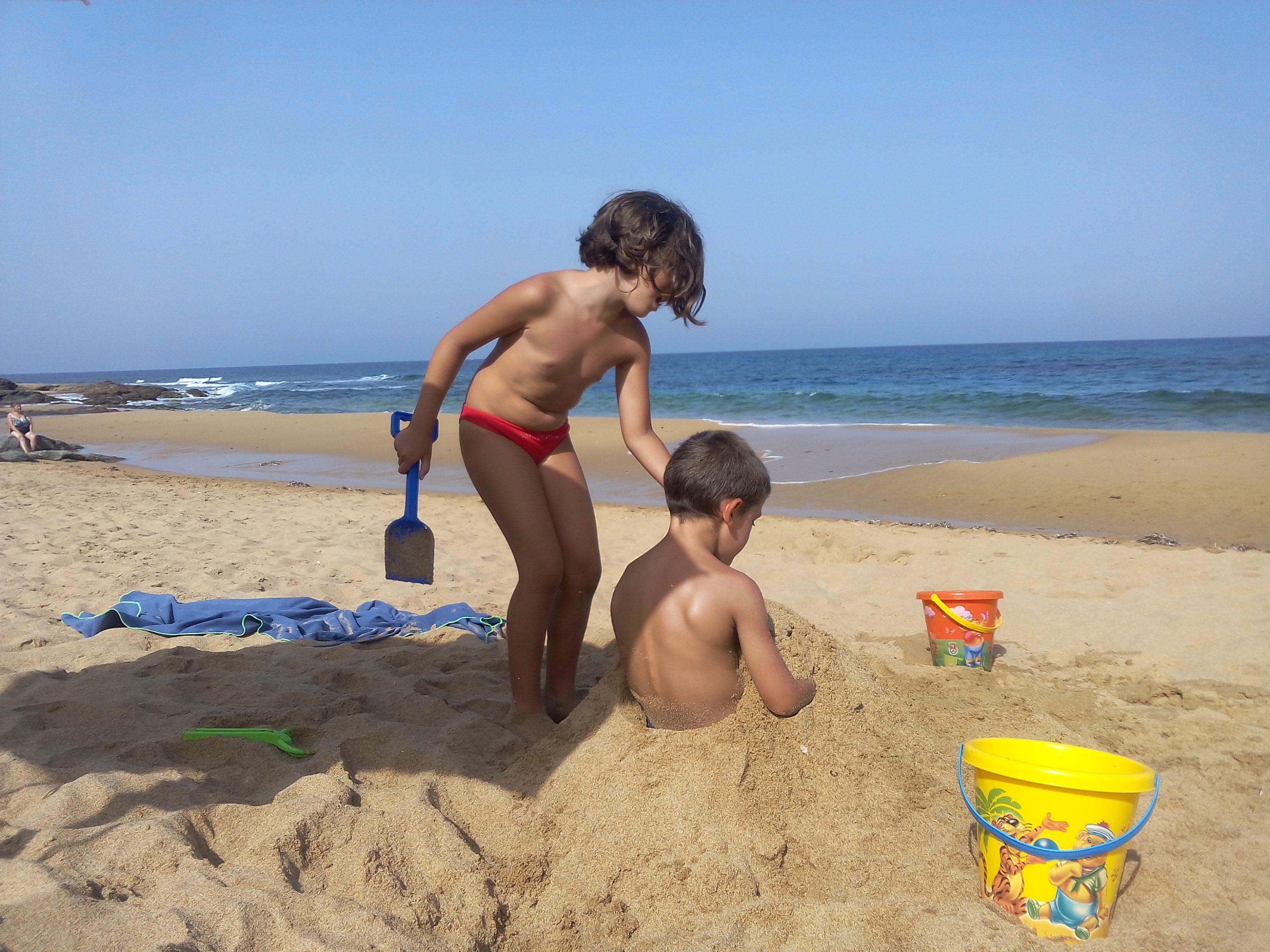 Family in vacanza nella Sardegna Occidentale