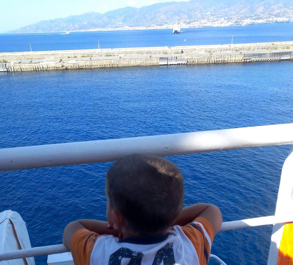da Giardini Naxos a Taormina in famigila