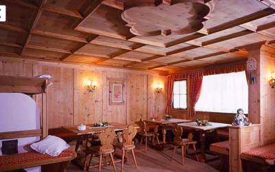 sala ristorante hotel Centro Pineta