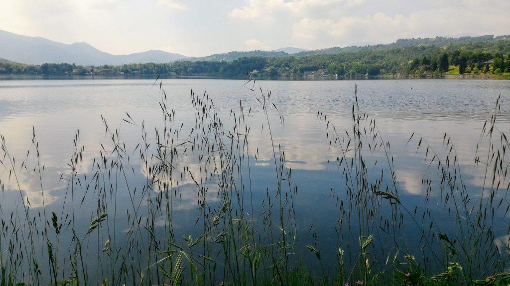 lago Avigliana in provincia di Torino