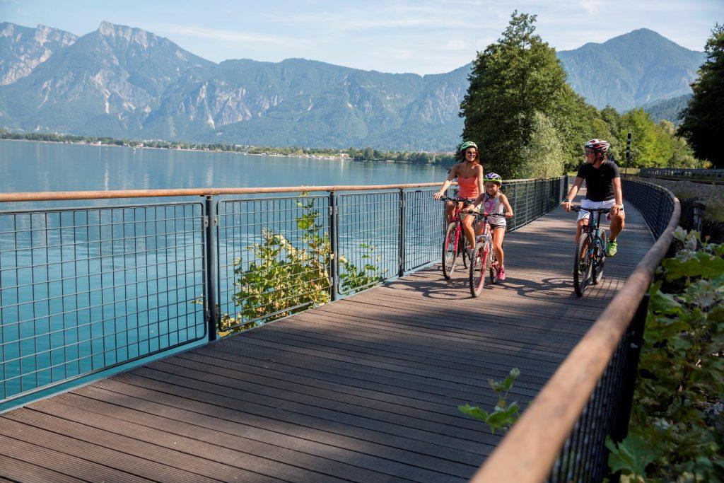 trentino in bici con i bambini