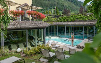 giardino con piscina Alpholiday
